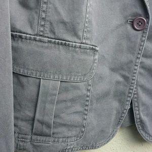 J. Crew cotton blazer